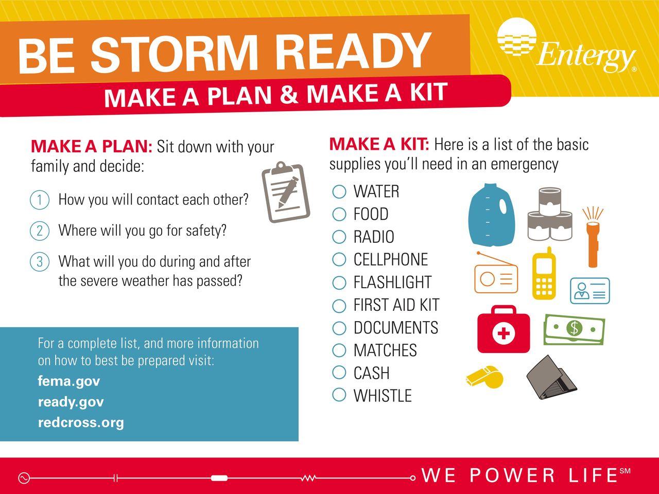 Storm Season Information Graphic